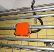 Прокладка проводов и кабелей в неметаллических трубах