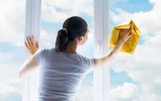 Уход запластиковыми окнами