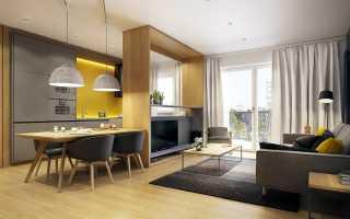 Кухня гостиная 6 на 4 планировка