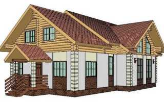 Как своими руками построить комбинированный дом