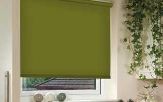 Как собрать рулонные шторы на пластиковые окна