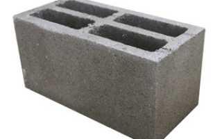 Пескобетонные блоки характеристики свойства производство и применение