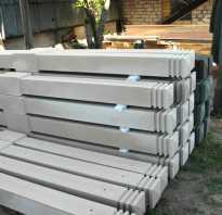 Бетонные столбы под забор