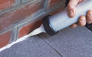 Как убрать силиконовый герметик с плитки