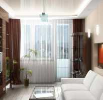 Варианты оформления окна с балконной дверью