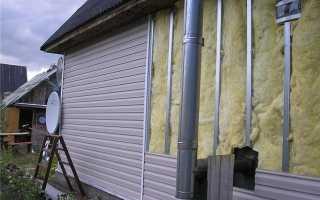 Технология утепления фасада минватой