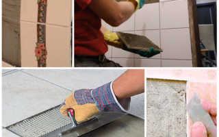 Отвалилась плитка в ванной чем приклеить