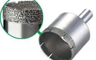 Как и чем сверлить керамогранитную плитку