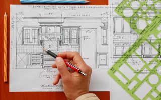 Разработка проекта кухонного гарнитура