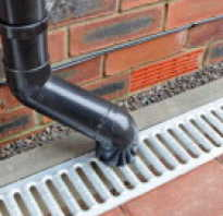 Принцип работы ливневой канализации