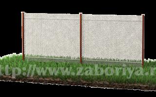 Заборы из сетки варианты и стоимость
