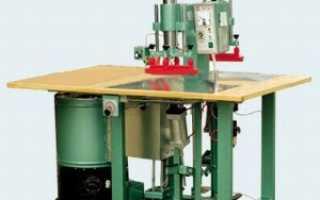 Как устроен твч станок для изготовления натяжных потолков