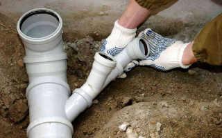 Проложить канализацию в своем доме