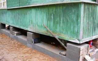 Переделка или ремонт фундамента под домом
