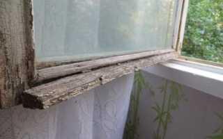 Как снять старую краску с деревянных окон