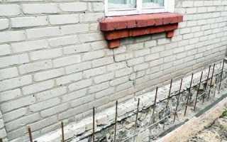 Как провести ремонт цоколя кирпичного дома