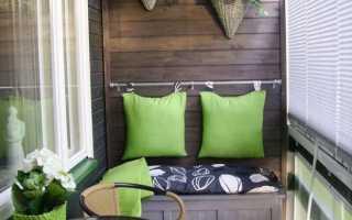 Как сделать маленький балкон