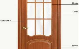 Особенности сборки каркаса дверного полотна