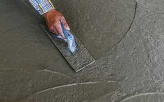 Нюансы технологии бетонирования поверхностей