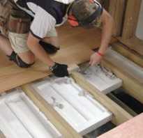 Нюансы монтажа деревянного пола