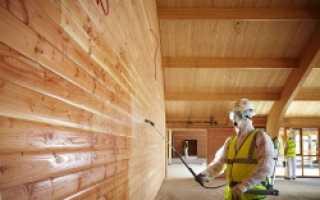 Защитные средства для дома из бруса
