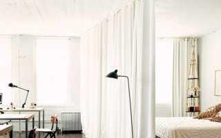 Как сделать шторы и перегородки своими руками