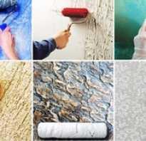 Декоративная штукатурка как декорировать поверхность своими руками