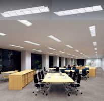 Какие бывают офисные светильники для потолка плюсы светодиодного освещения