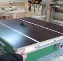 Стол для ручной дисковой пилы процесс своими руками