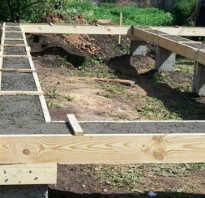 Столбчато ленточный фундамент построенный своими руками