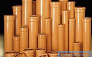 Применение пластиковых элементов для систем внутренней канализации