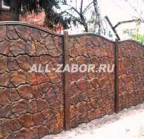 Бетонный забор секционный цена актуальная по москве