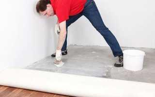Какой линолеум лучше стелить на бетонный пол
