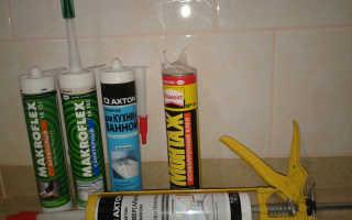 Жидкие гвозди для керамической плитки в ванной