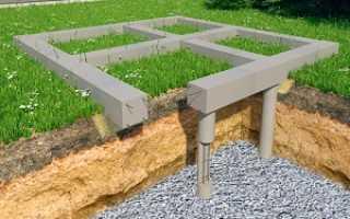 Что такое свайный фундамент ростверкового типа