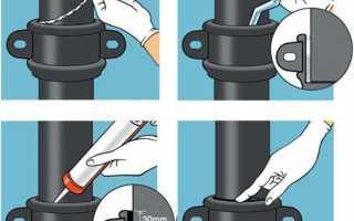 Как правильно зачеканить чугунную трубу