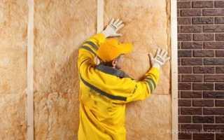 Утеплить стену изнутри в кирпичном доме