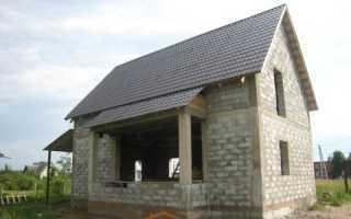 Технология строительства дома из пеноблоков
