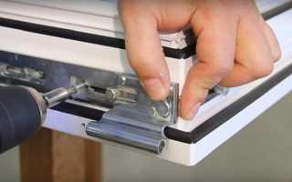 Регулировка пластиковых окон самостоятельно видео инструкция