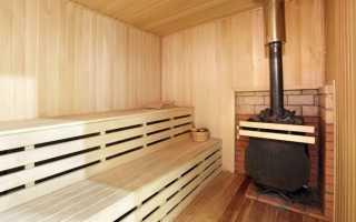 Как сделать отопление в бане от печи