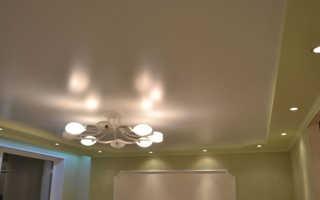 Что такое сатиновый натяжной потолок