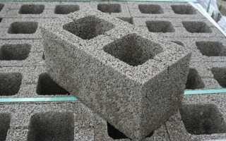 Как выполняется кладка керамзитобетонных блоков в блок