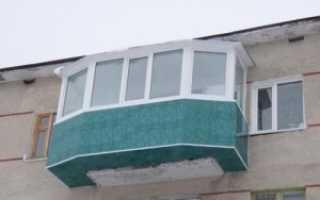 Выносной балкон фото