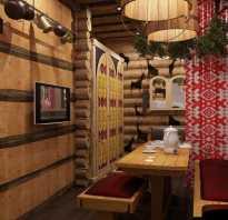 Дизайн интерьера комнаты отдыха в бане