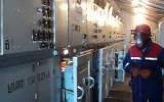 Вывод в ремонт силового трансформатора последовательность