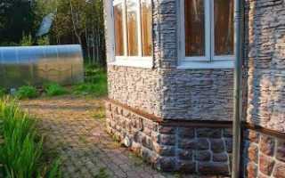 Бетонные фасадные панели под кирпич