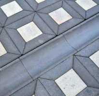 Водостоки для тротуарной плитки с решеткой