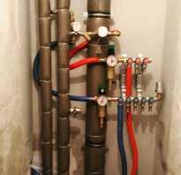 Подготовка к замене труб в ванной и туалете