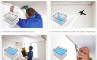 Как делаются материалы для натяжных потолков