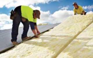Как правильно утеплить крышу своими руками